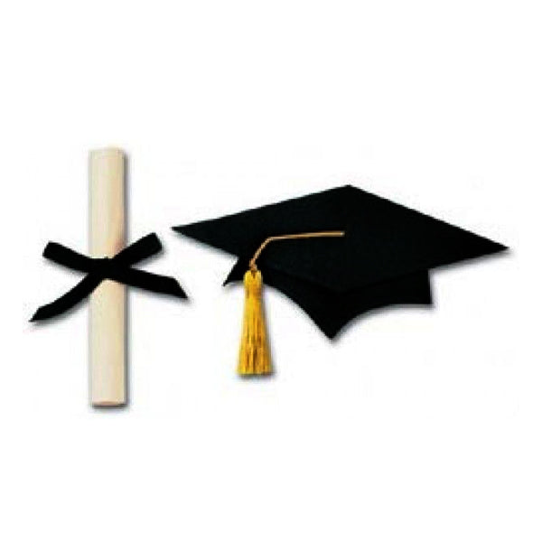 Large Graduation Cap & Scroll JJE021C