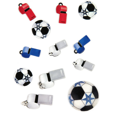 Soccer Balls and Whistles 50-00546