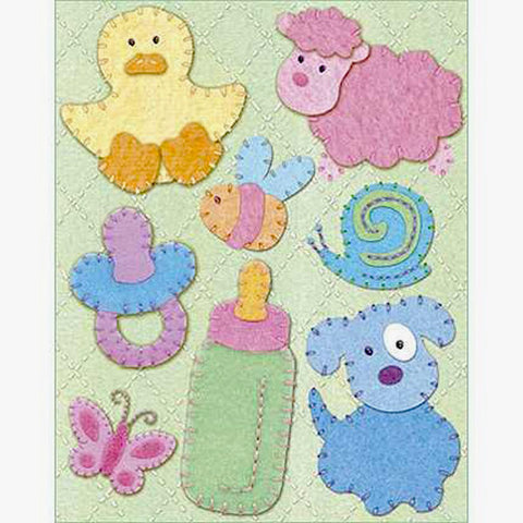 Sweet Pea Snuggle Bug Grand Adhesions KCO-555990