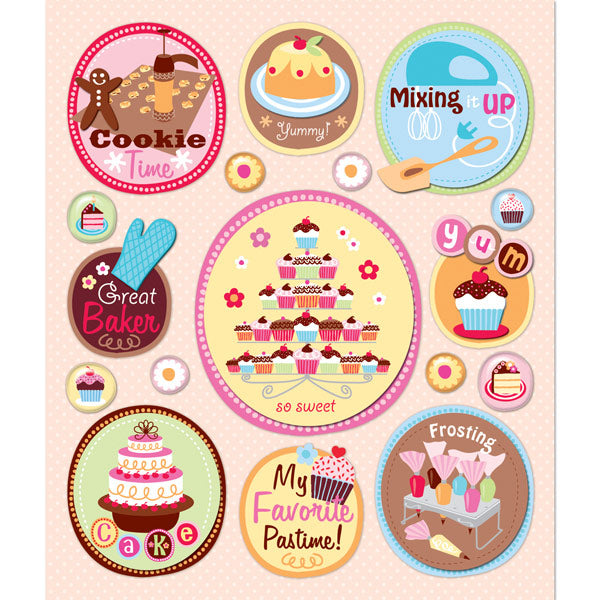 Baking Together Sticker Medley KCO-30-587533