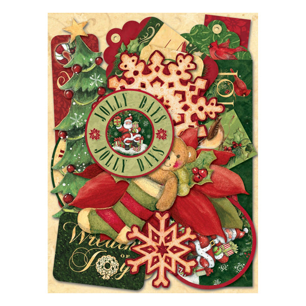Susan Winget Glad Tidings Word Die-Cut Cardstock KCO-30-595613