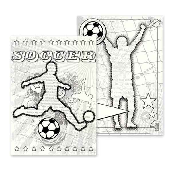 Soccer Canvas Colorables LYB-GO-2034