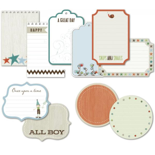 Fern and Forest Boy Journaling Cards LYB-FNB-434