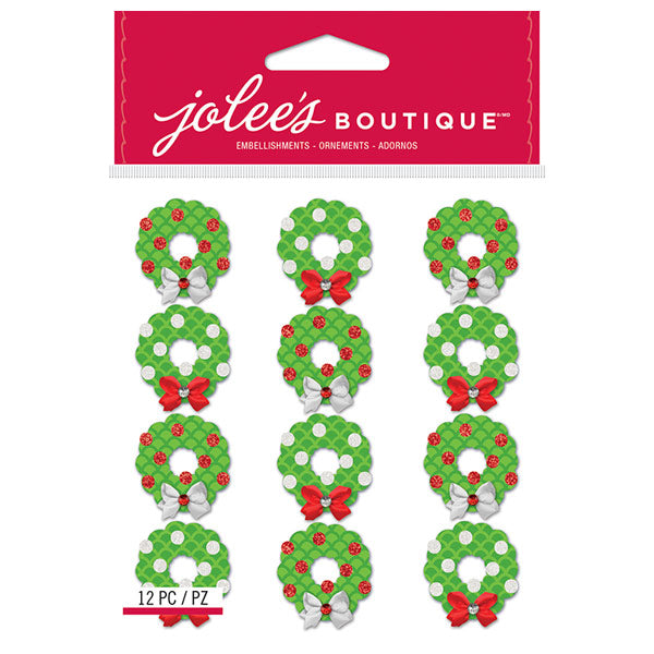 Christmas Wreaths Repeats 50-30344