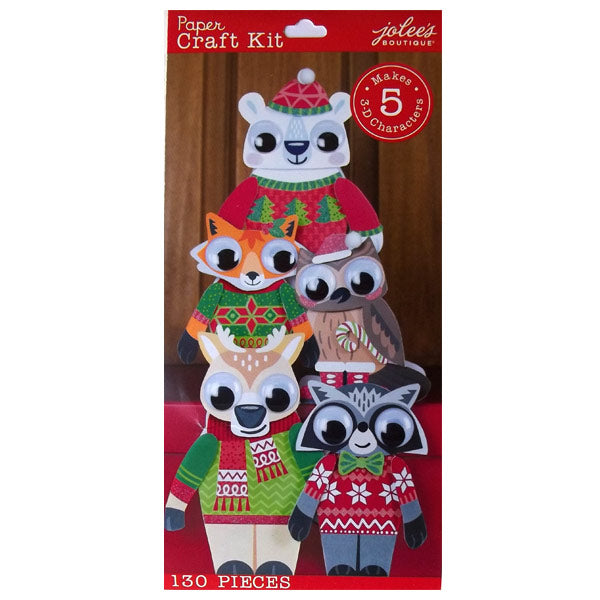 Holiday 3D Woodland Character Kit 50-30328