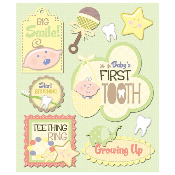 Babys First Tooth Sticker Medley KCO-30-620261