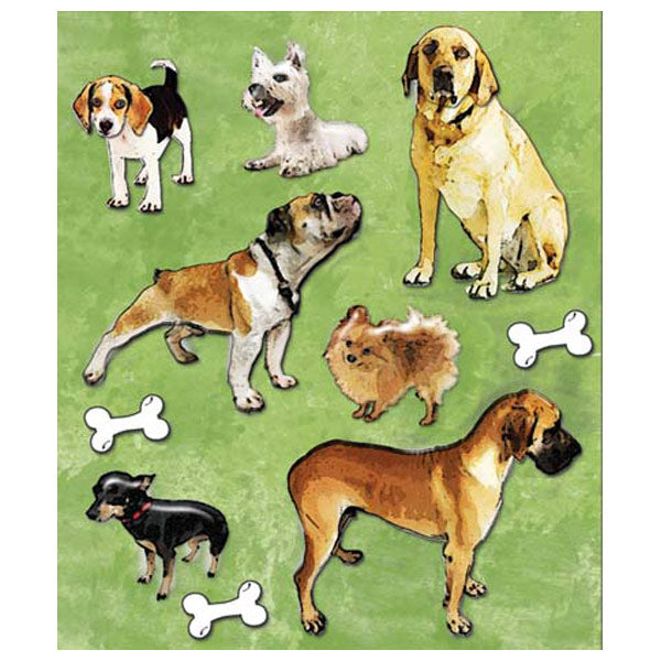 Variety of Dogs Sticker Medley KCO-30-587892