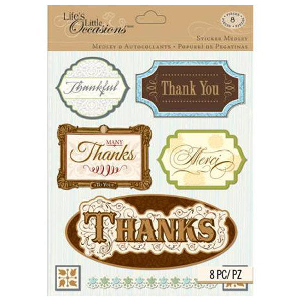 Thank You Sticker Medley KCO-30-679573