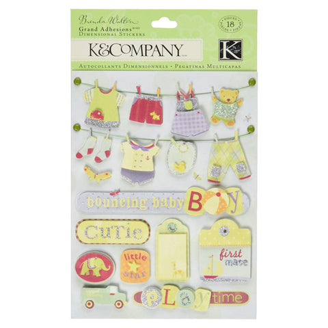 Small Wonders Boy Clothesline Grand Adhesions KCO-553828