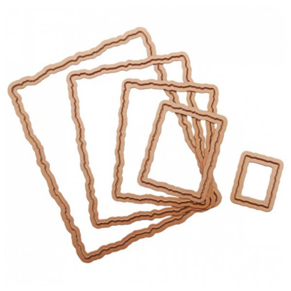 Deckled Rectangles Large SB-S4-202