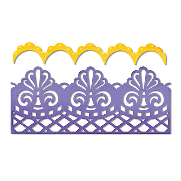 Damask and Scallop Borders SZX-658945