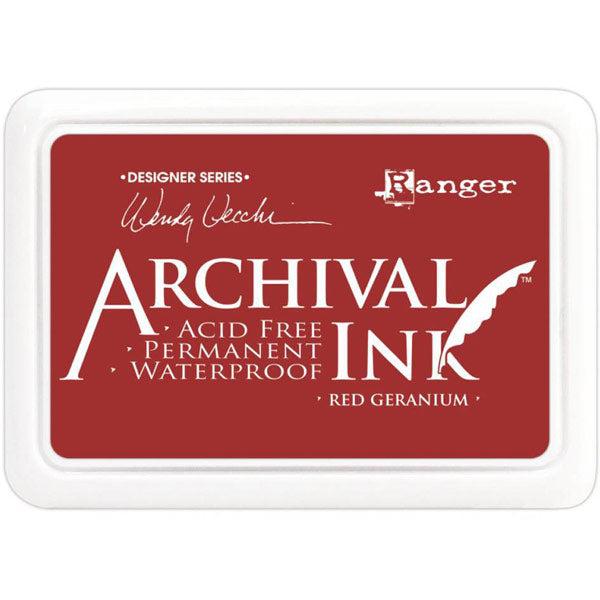 Archival Ink Red Geranium AID38993