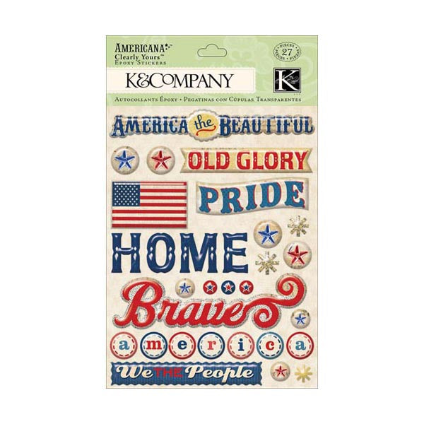 Americana Word Clearly Yours KCO-30-614246