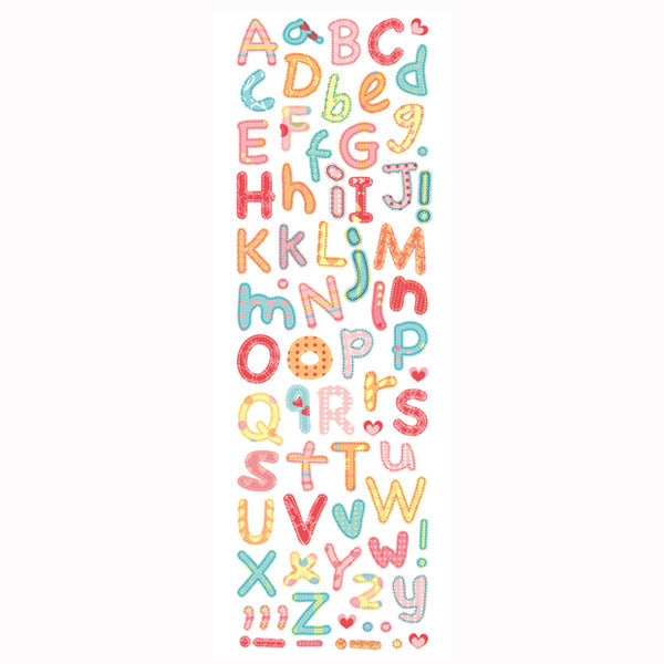 Baby Girl Alphabet Foam PSFO18