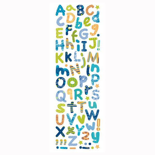 Baby Boy Alphabet Foam PSFO17