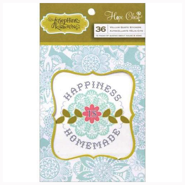 Hope Chest Vellum Quotes AG-DE1126
