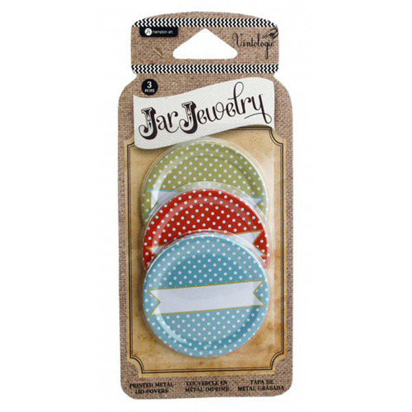 Dot Print Metal Lid Cover HA-JJ0005