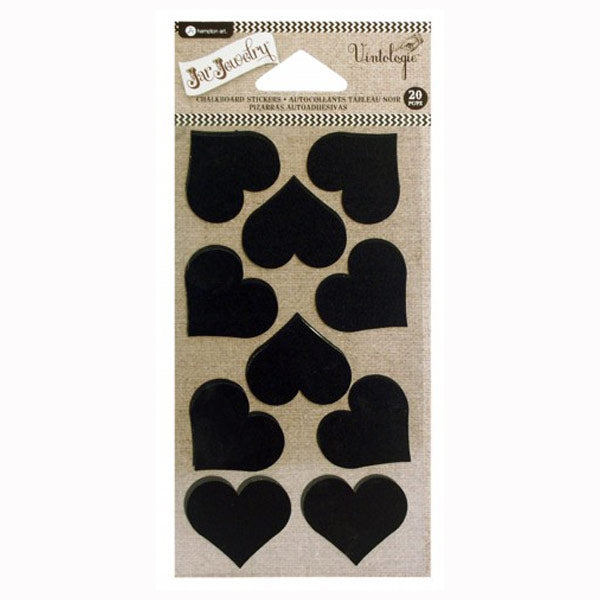 Chalkboard Hearts with Chalk HA-AC0418