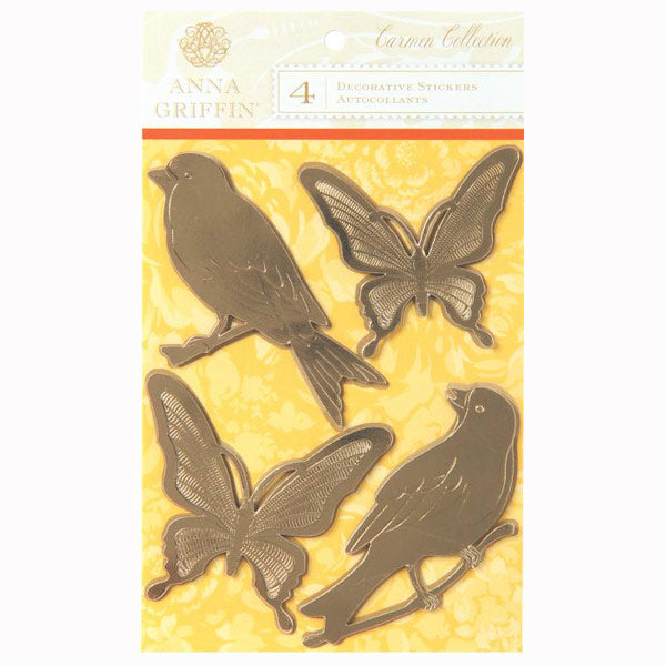 Carmen Collection Foil Birds and Butterflies AG-DE1241