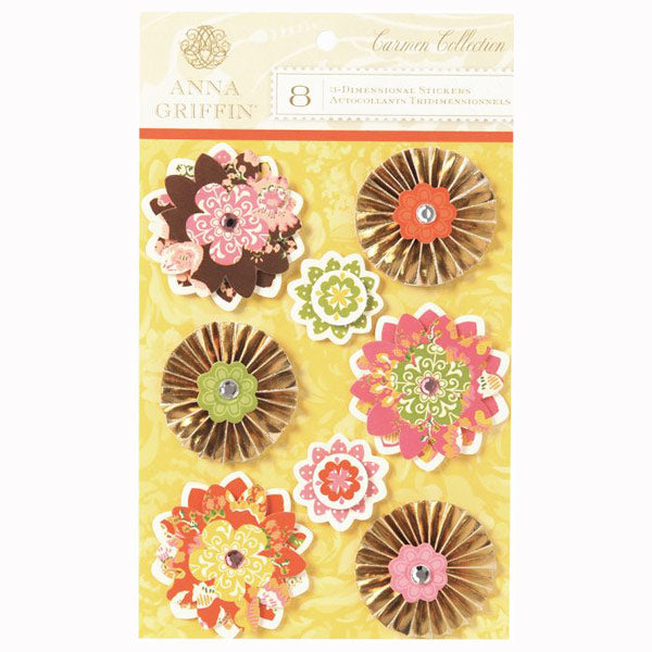 Carmen Collection Flowers and Medallions AG-DE1235