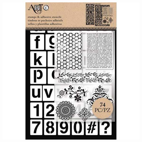 Uppercase Lowercase Alpha S-26885