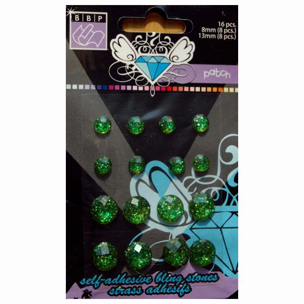 Bling Stones Patch Green BBP-303477
