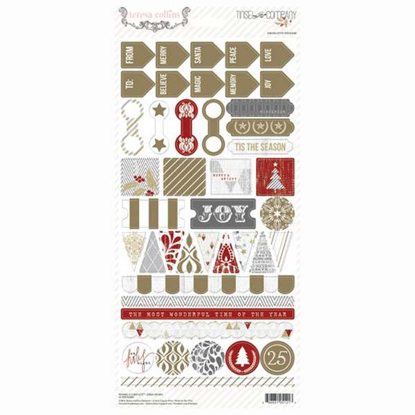 Tinsel and Company Decorative Labels TC1021
