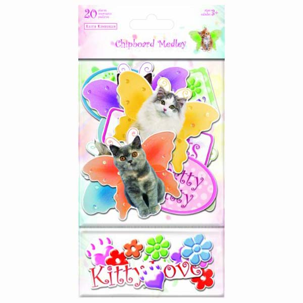 Kittens Chipboard Medley SC5007