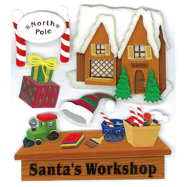 Santa's Workshop 50-20348
