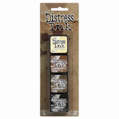 Mini Distress Ink Pad Kit 3 TH-TDPK40330