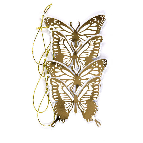 Butterfly Silhouette Die Cut Tags 50-30380