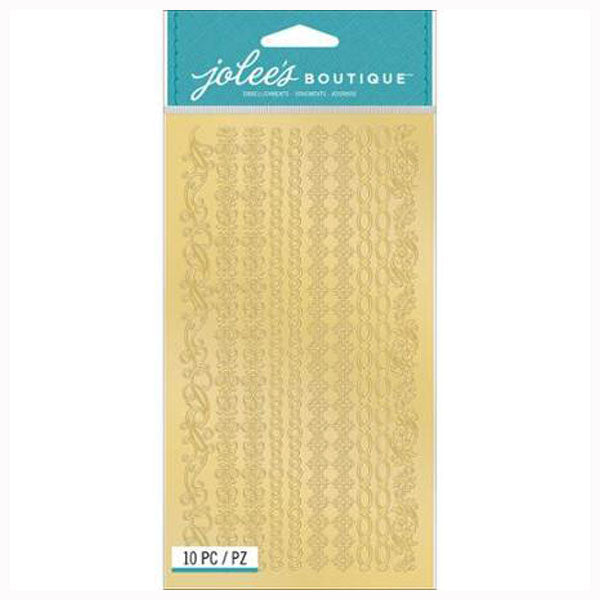 Gold Laser Cut Borders 50-30178