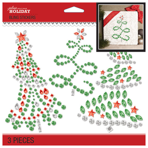 Holiday Trees Bling 50-51095