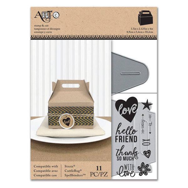 gable box template with stamps s 28703 cozys scrapbooking