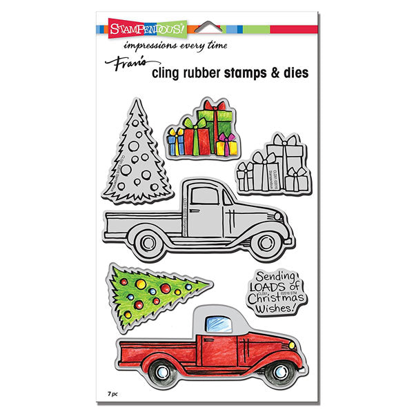Christmas Tidings Truck S-CLD01