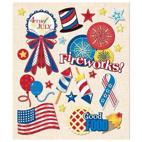 4th of July Sticker Medley KCO-30-588097