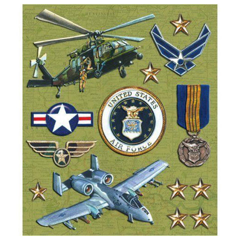 Air Force Sticker Medley KCO-30-588004