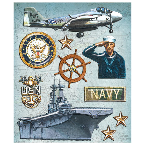 Navy Sticker Medley KCO-30-587991