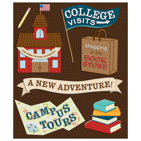 College Visits Sticker Medley KCO-30-586611