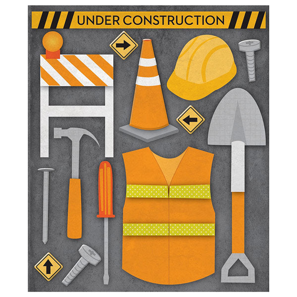 Construction Worker Sticker Medley KCO-30-588363