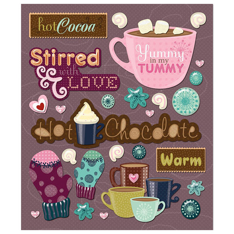Hot Chocolate Sticker Medley KCO-30-587052