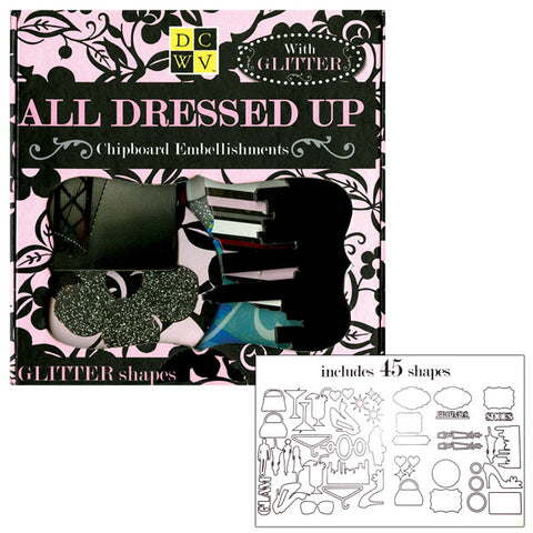 All Dressed Up Chipboard Box EM-025-00013