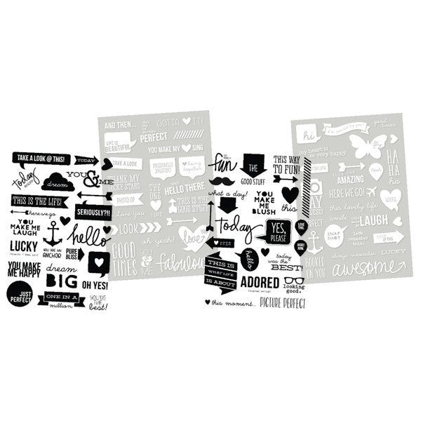 Clear Photo Stickers SS-5143