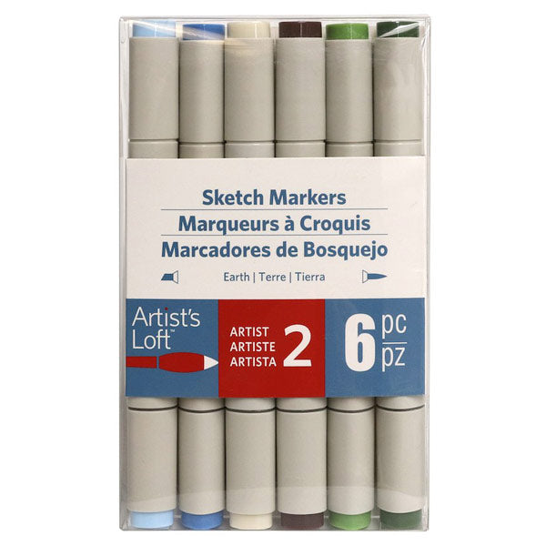 Earth Sketch Markers AL-516314