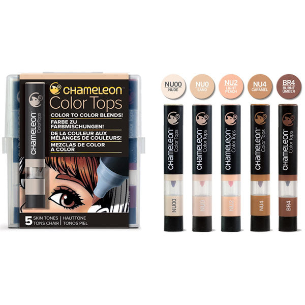 Color Tops Skin Tones CT4510