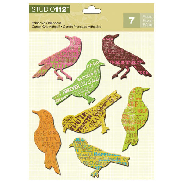 Birds Adhesive Chipboard KCO-30-620445