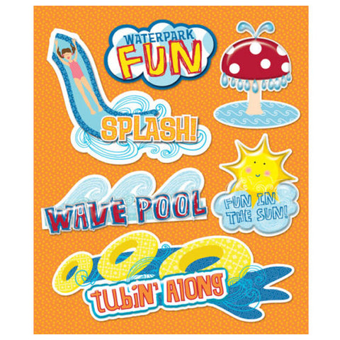 Waterpark Sticker Medley KCO-30-586338
