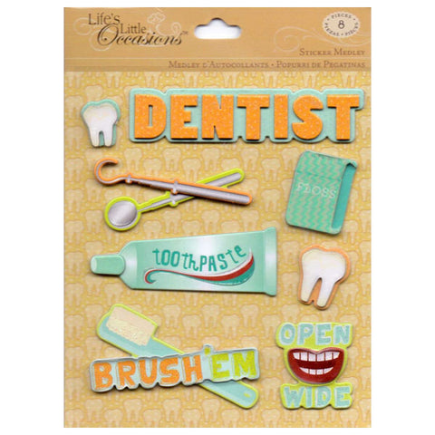 Dentist Sticker Medley KCO-30-588394