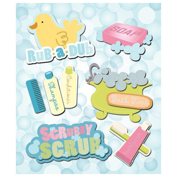 Bath Time Sticker Medley KCO-30-587434
