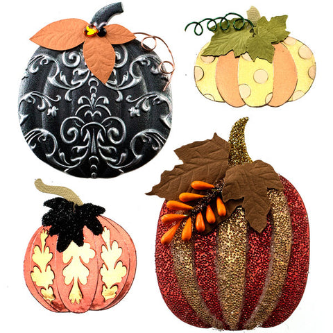 Metallic Pumpkins 50-21563